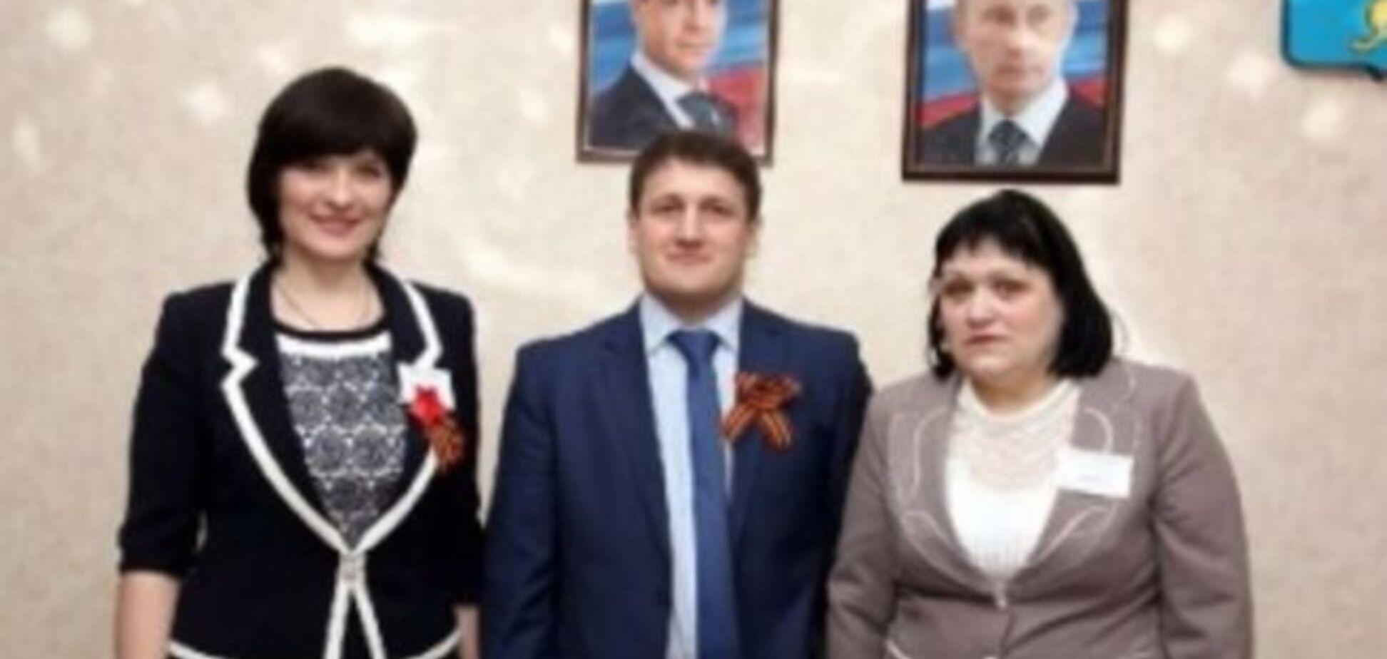 На харківських вчителів через фото з Путіним поскаржилися в СБУ
