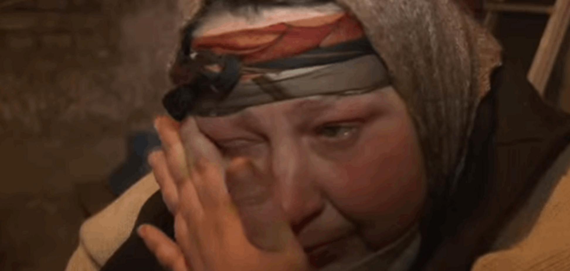 Просочена пропагандою росТВ жінка спробувала пояснити, чому 'Донбас захотів відокремитися': відеофакт
