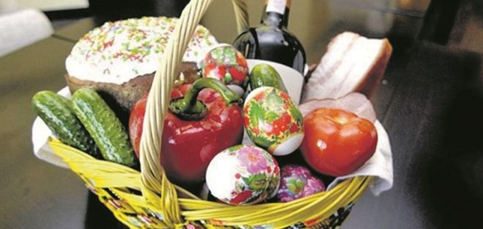Пасхальная корзина: названы продукты, которые нельзя святить в церкви