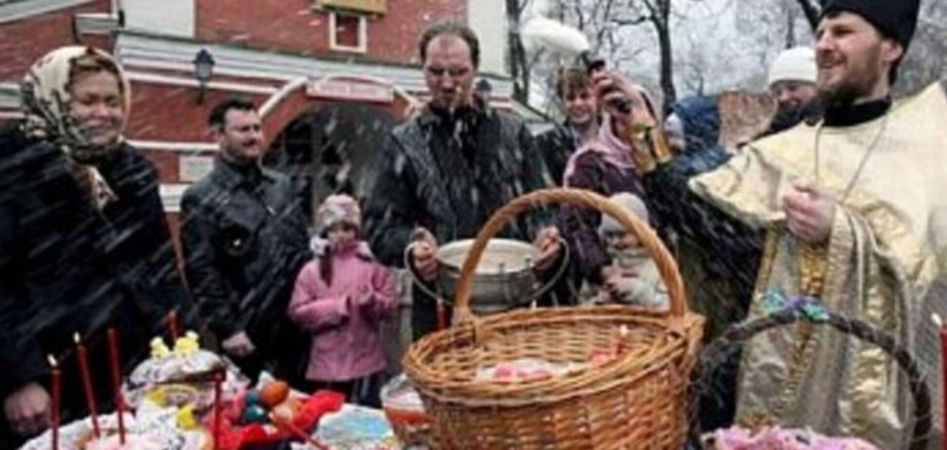ЗМІ: на Донбасі не можна купити крашанки і паски