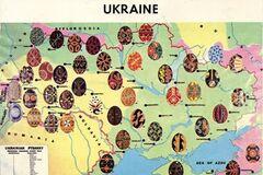 В сети показали карту орнаментов писанок в разных регионах Украины