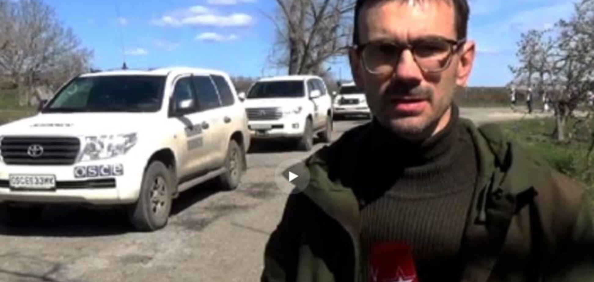 Журналіст телеканалу 'Звезда' підірвався на 'розтяжці' в Широкине