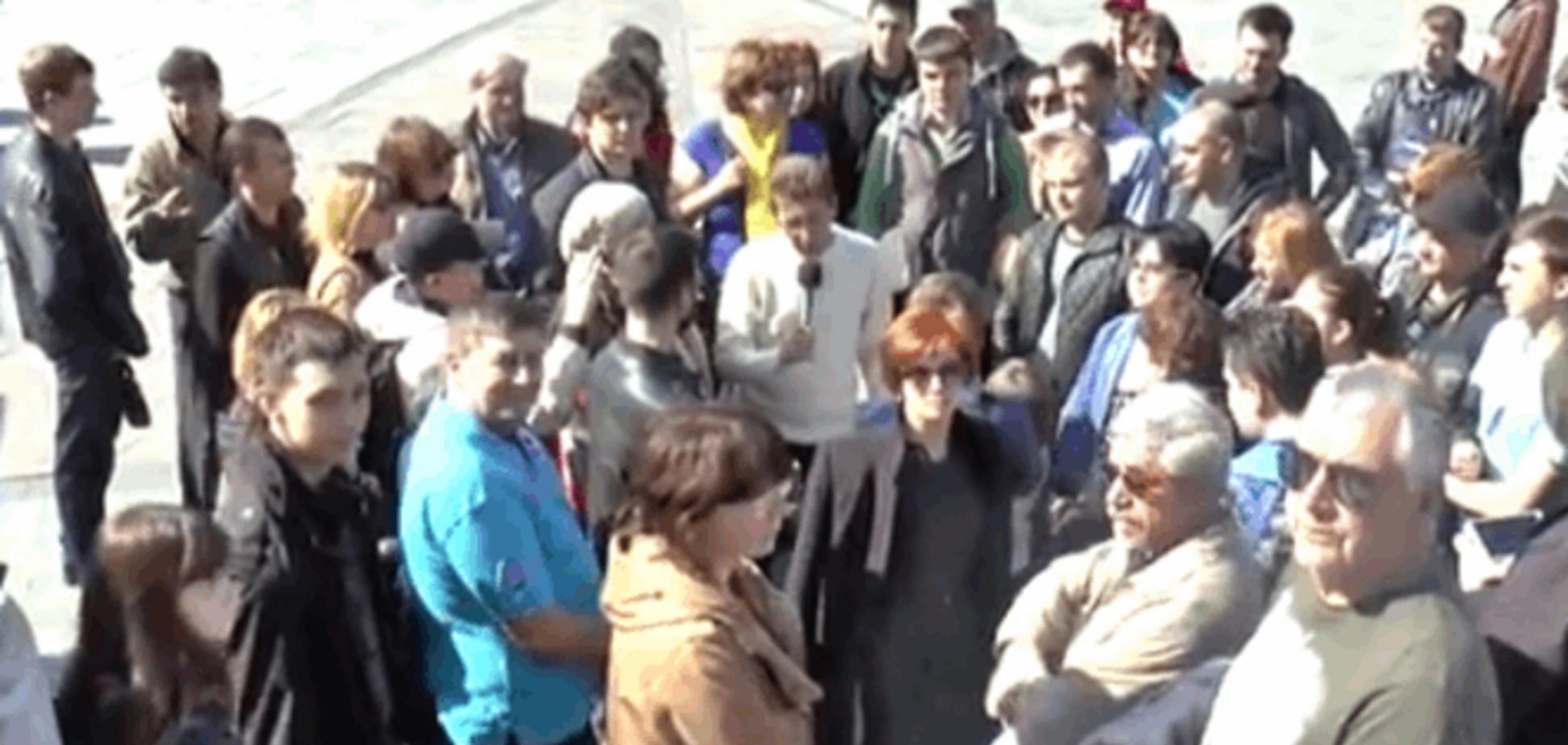 Відомий російський блогер записав звернення киян до Путіна: 'Україна - не Аліна'