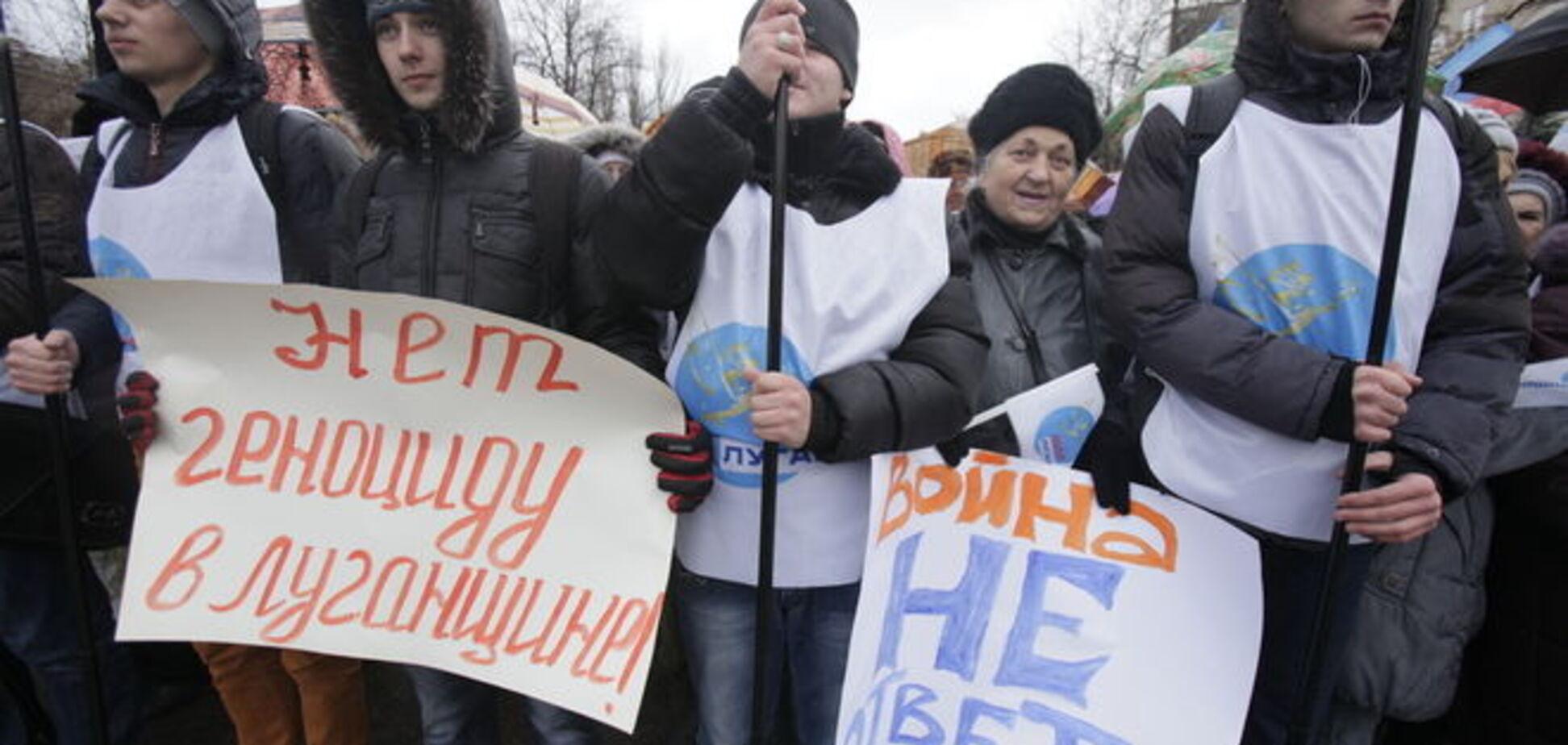 'Голодний перепис' у Луганську: від України вимагали почати годувати 'ЛНР'