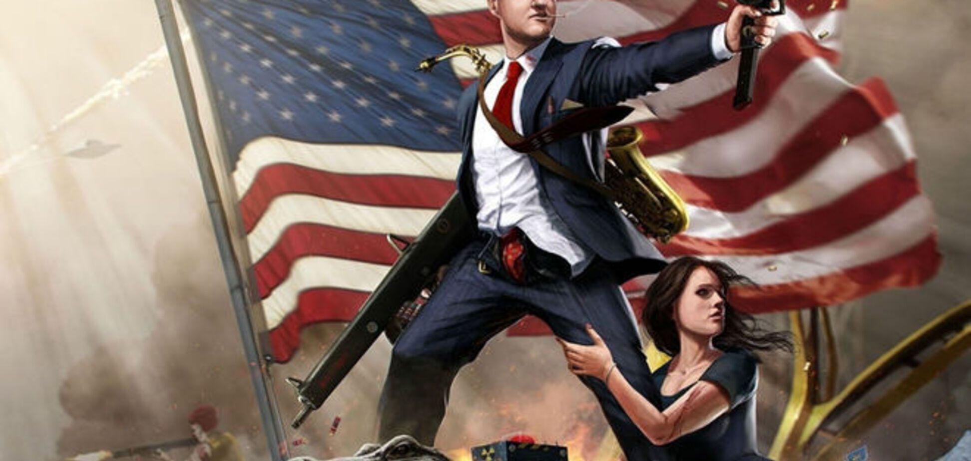 Кто выглядит 'типичный американец' в глазах всего мира