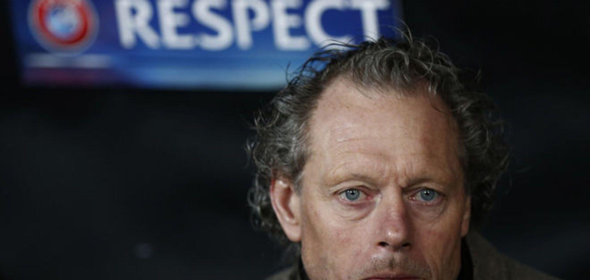 Тренер бельгийцев спел дифирамбы 'Днепру'