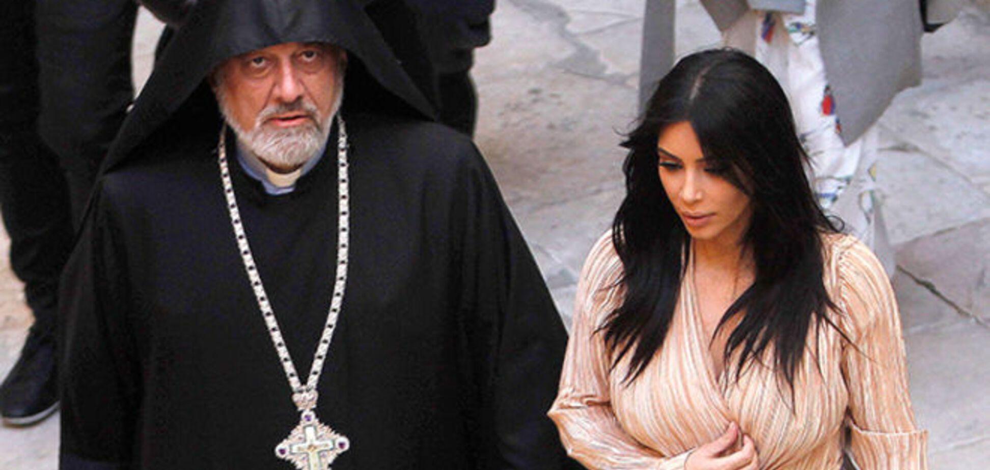 Ким Кардашьян угодила в скандал на религиозной почве в Израиле