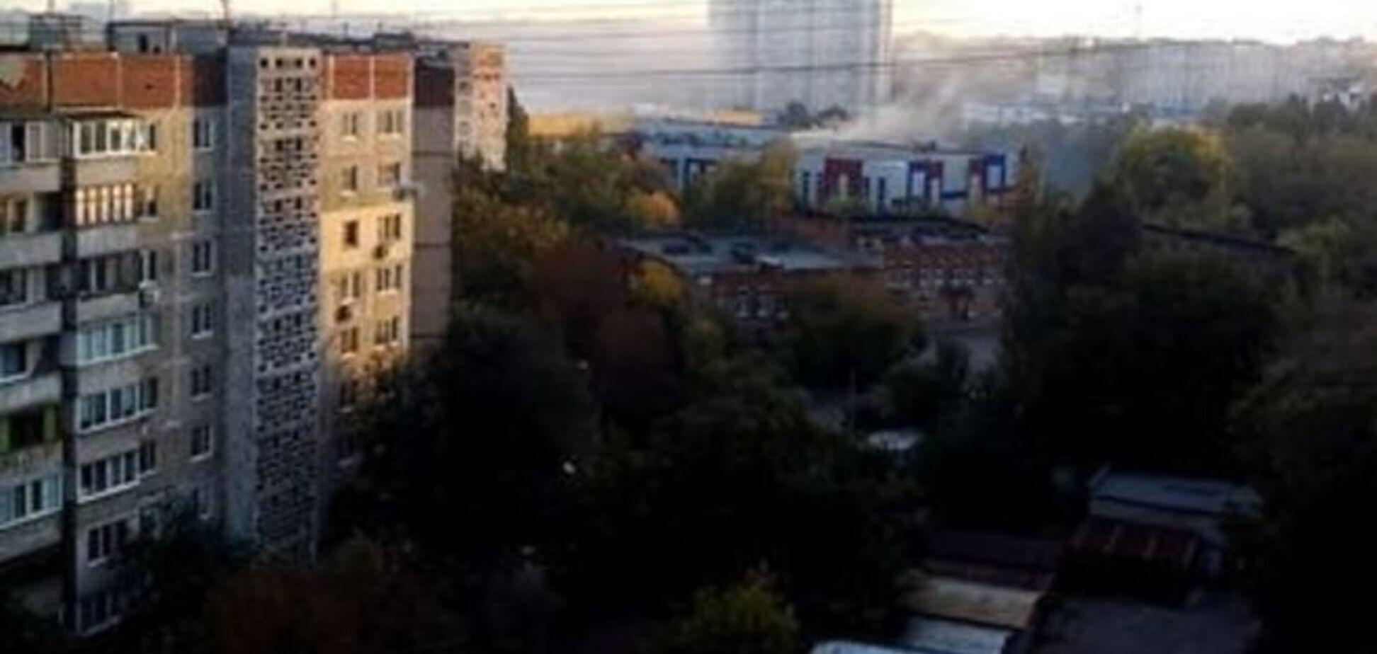 У передмісті Донецька почався запеклий бій - очевидці
