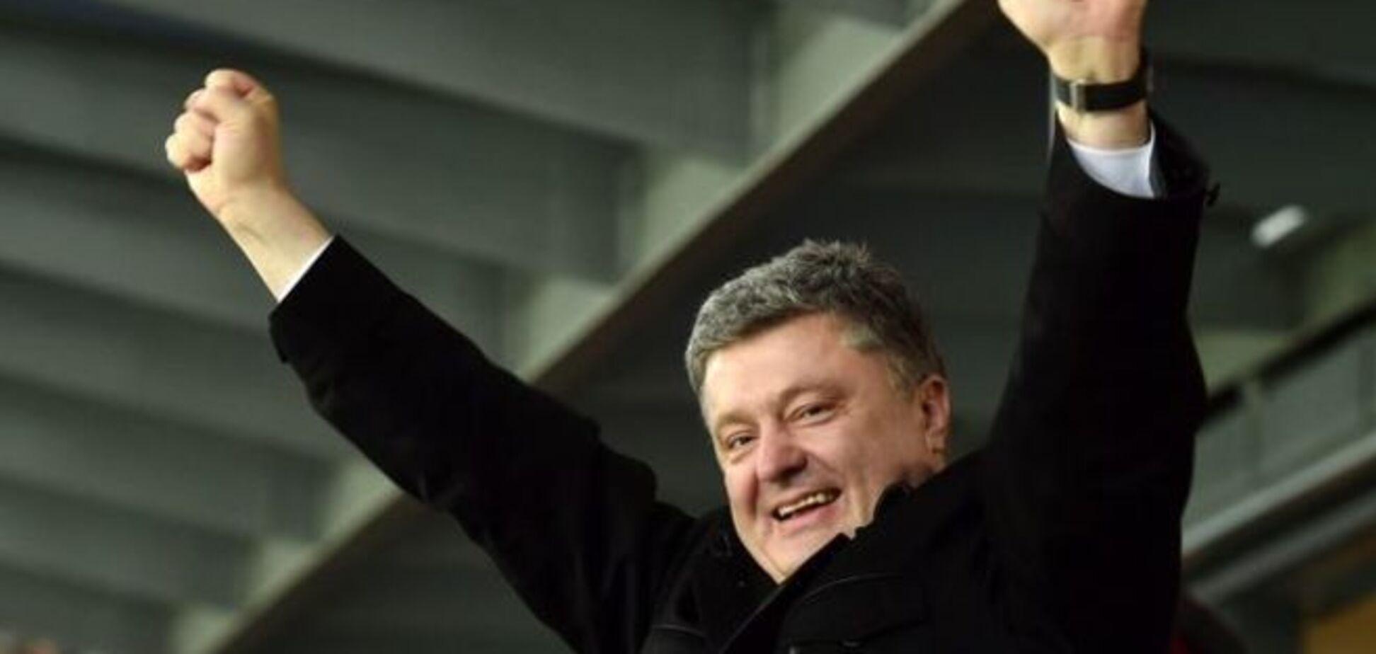 'Где козак, там и слава'. Порошенко поздравил Усика с победой над россиянином