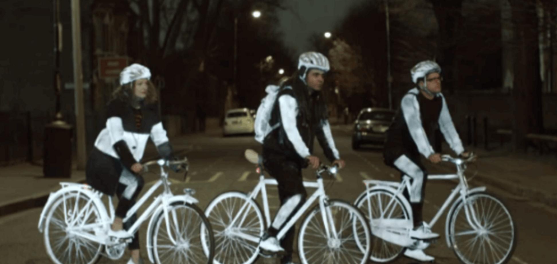 Volvo представила невидимую краску LifePaint, которая спасет жизнь велосипедистам