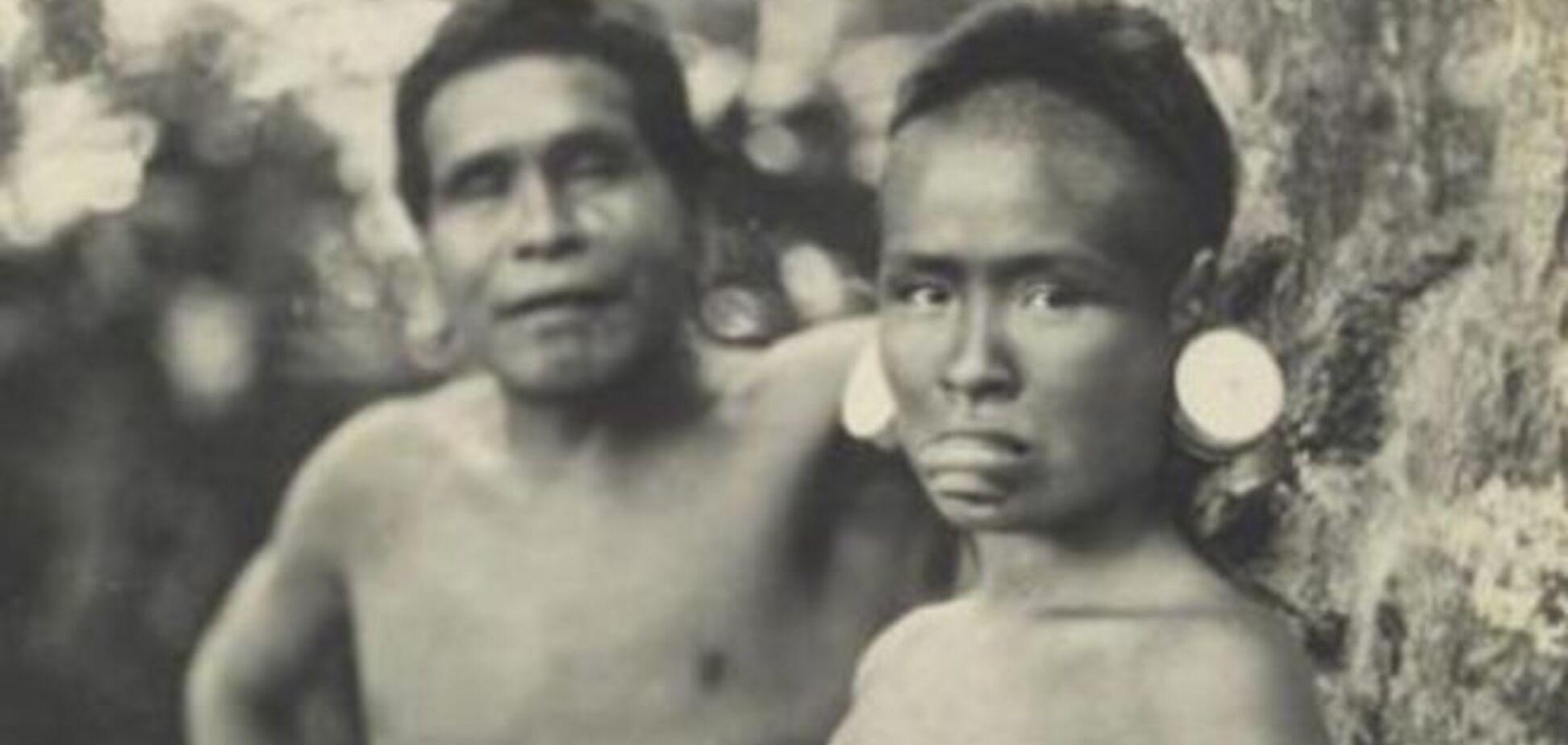 Древнее фото обнаженной индианки вызвало скандал в Бразилии