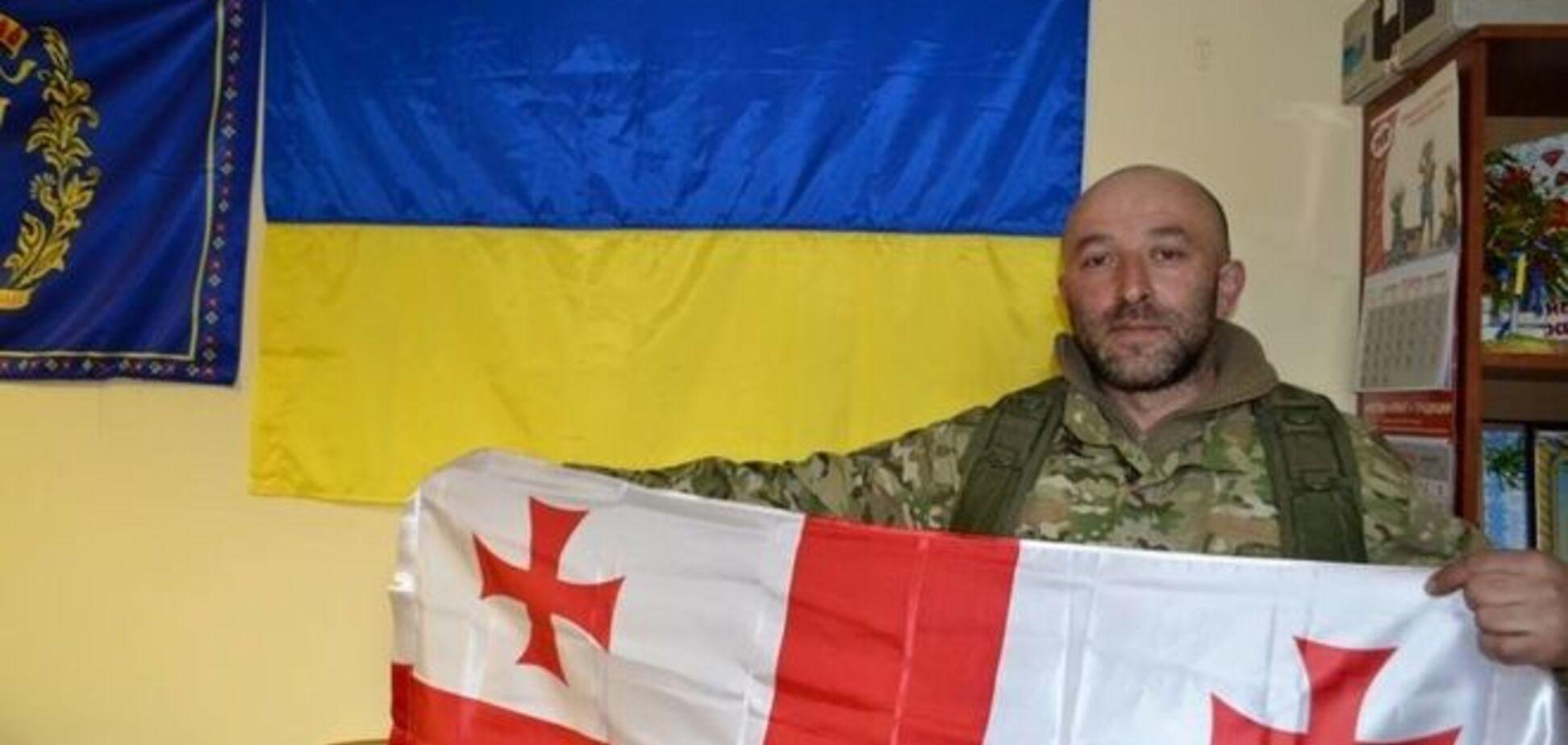 В бою под Широкино погиб грузинский боец 'Сатана': последнее видео героя