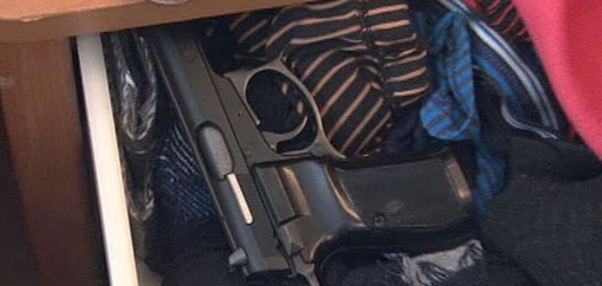 В Одессе у 'жителя соседней страны' изъяли оружие и боеприпасы
