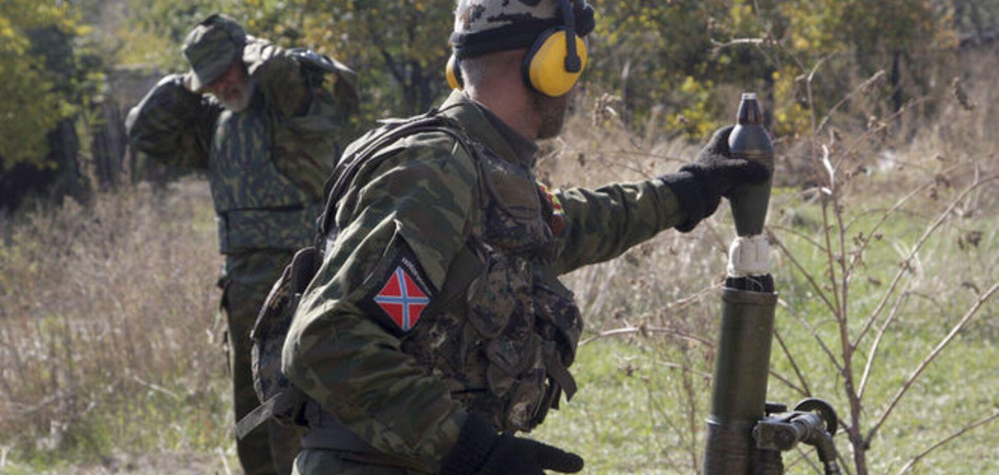 Бойовики поливали сили АТО на Донбасі вогнем з мінометів