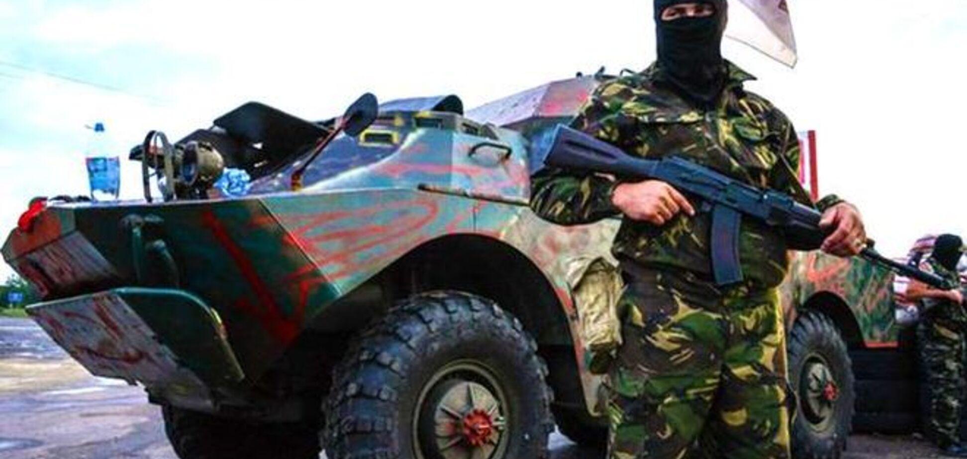 Боевики превратили Луганск в большую военную базу