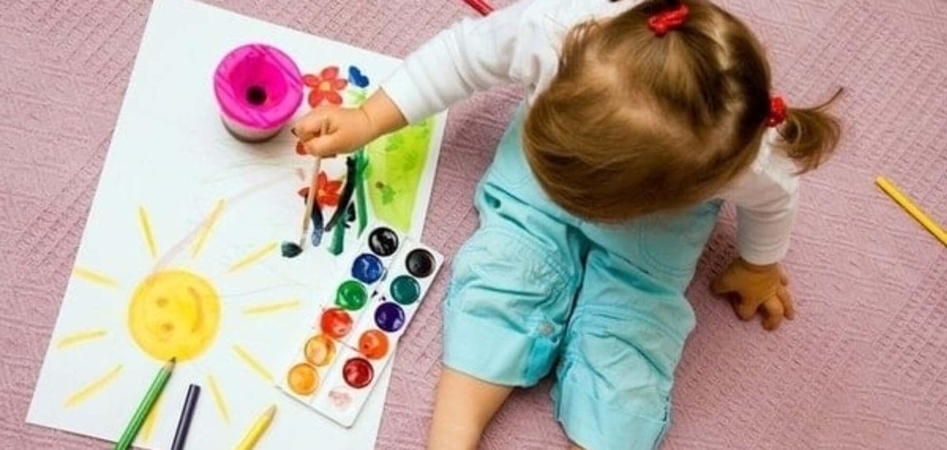 Малюємо з дітьми раннього віку