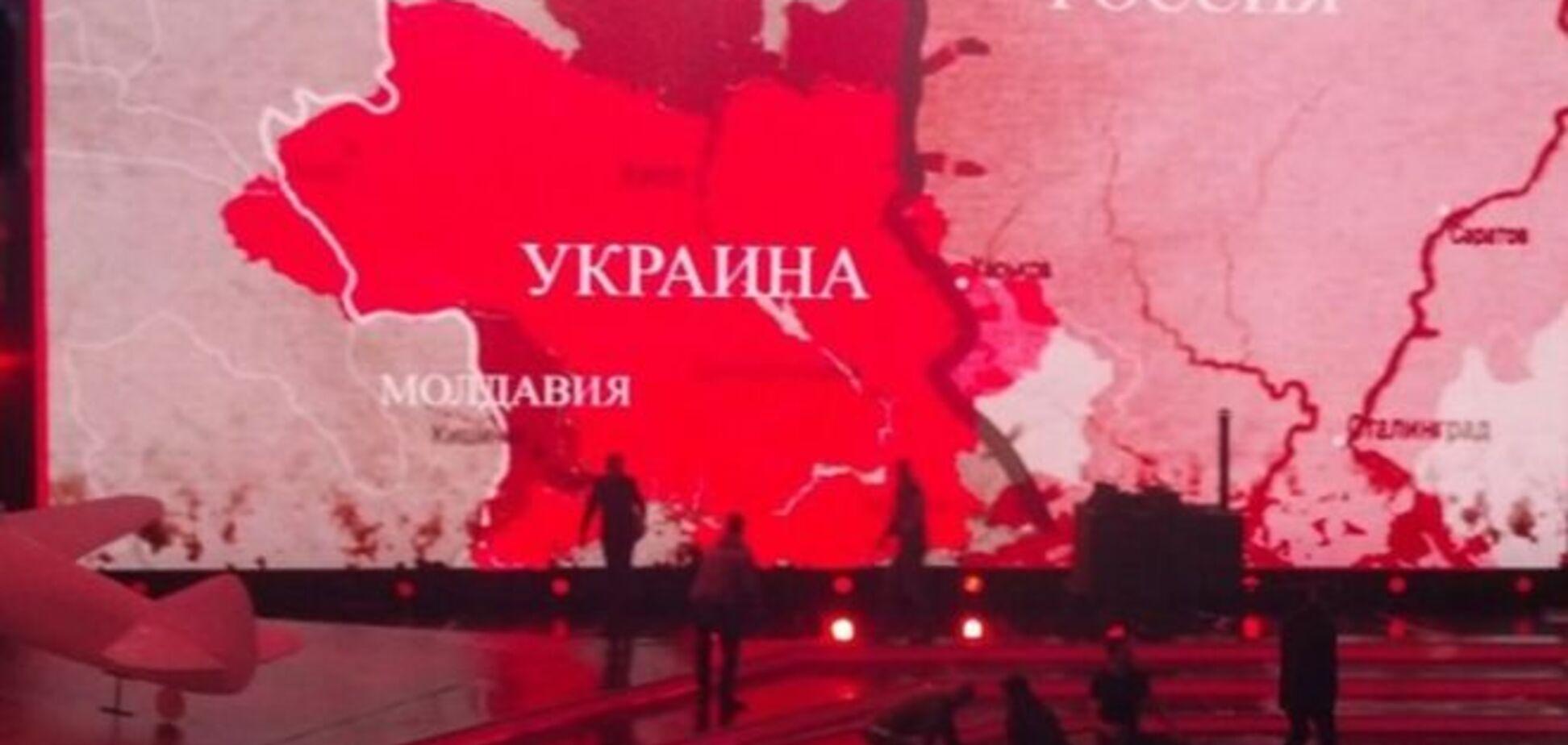 День Перемоги по 'Інтеру': телеканал щедро віддав Росії схід України