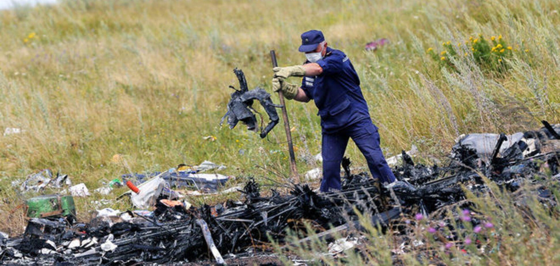 На месте крушения Boeing-777 снова обнаружены останки тел