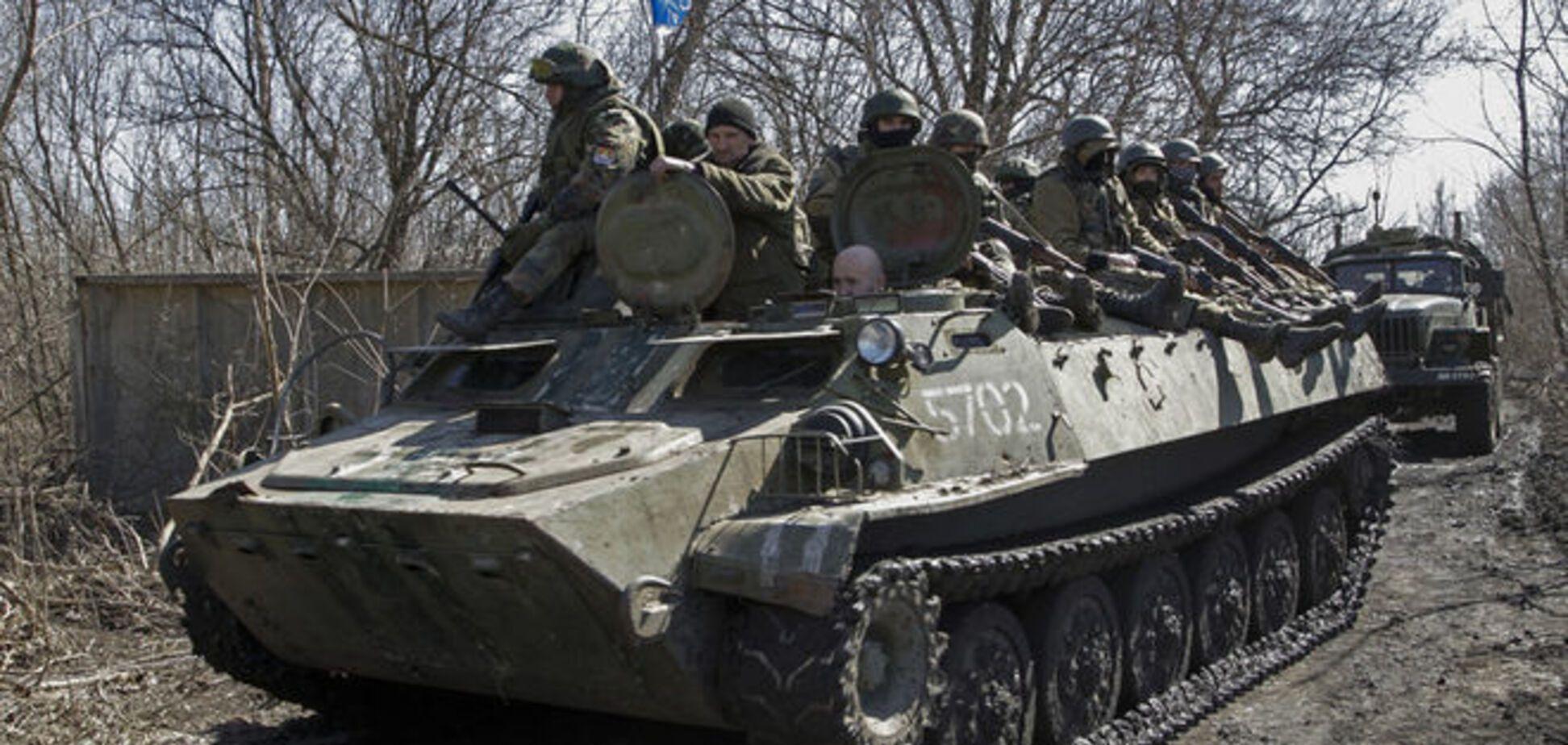 Бойцов АТО близ Ленинского обстреляли из танка