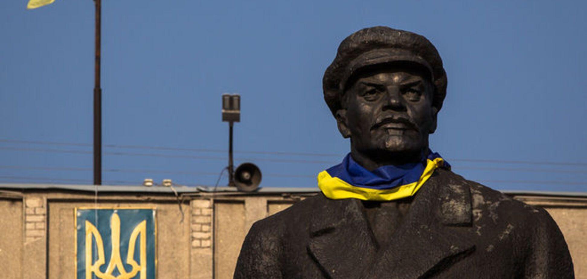 В Краматорске по-тихому снесли еще один памятник Ленину