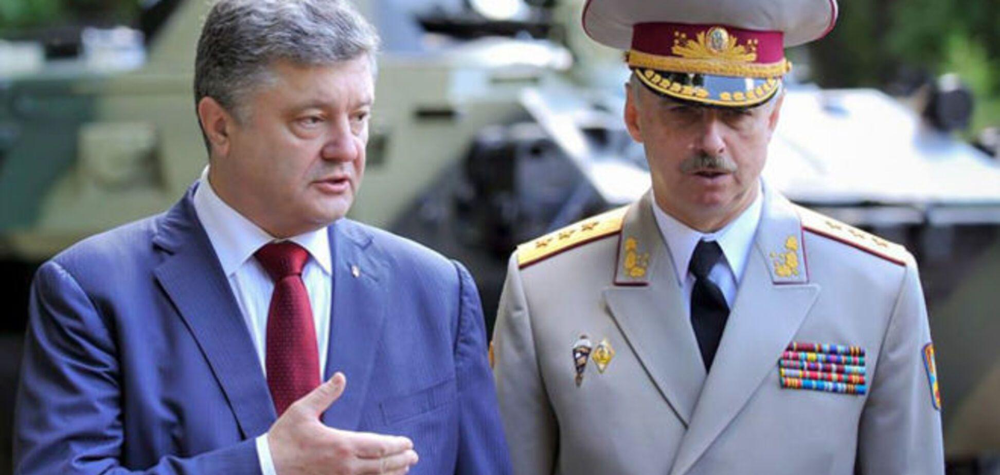 Порошенко своим указом отменил люстрацию экс-министра обороны