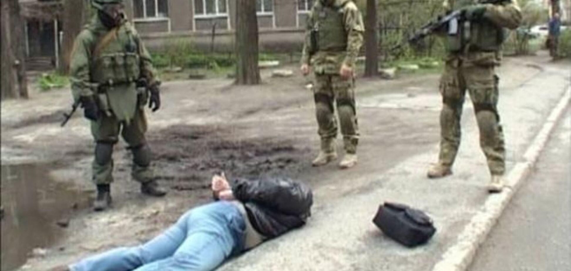У Дніпропетровську затримали терориста-розвідника з 'КДБ ЛНР': фото- і відеофакт