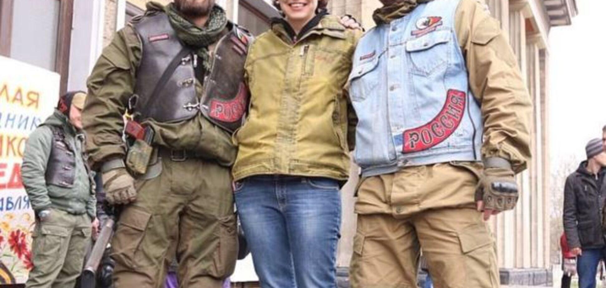 Ветром голову надуло? Чичерина устроила фотосессию с террористами 'ЛНР'