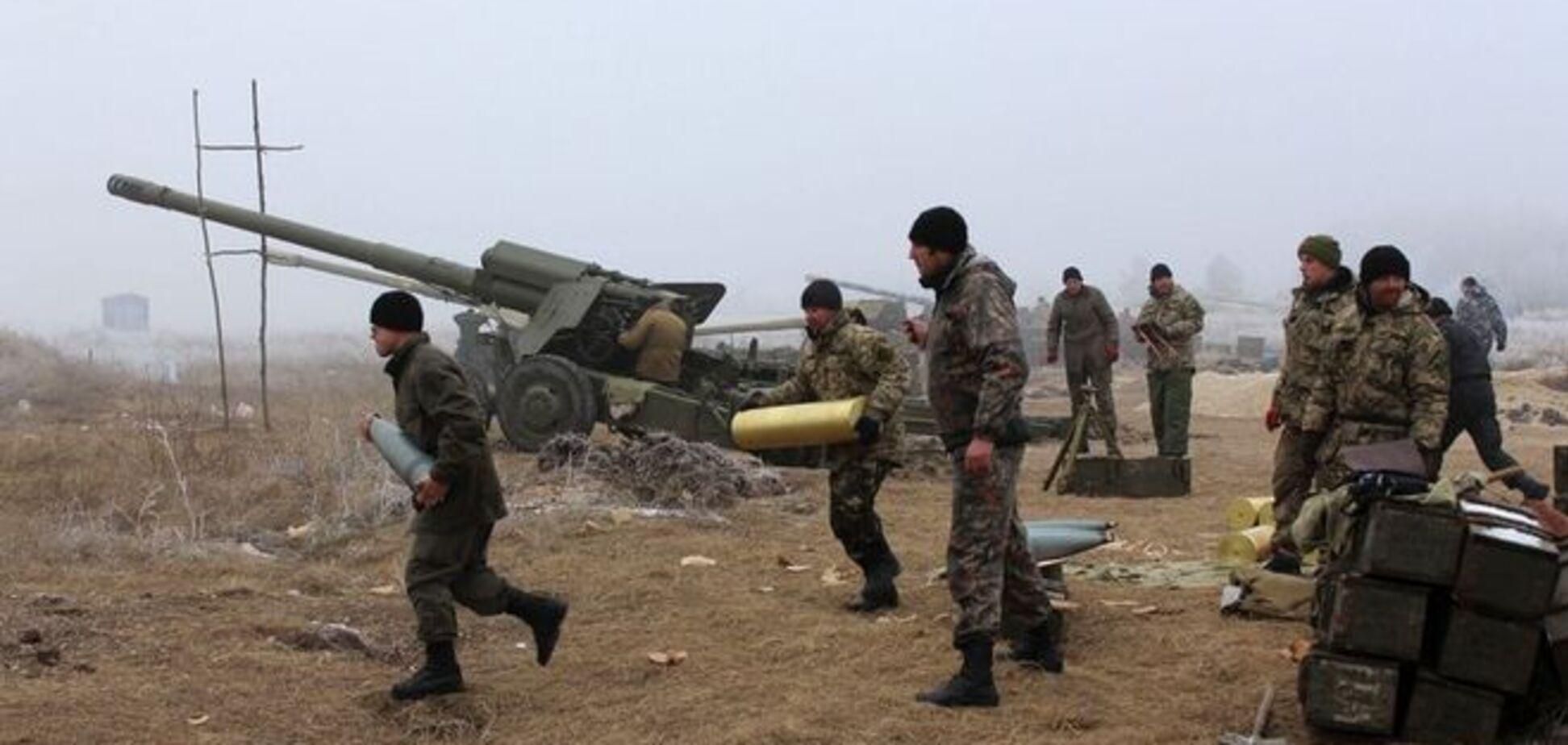 Террористы из артиллерии обстреляли жилой квартал Авдеевки
