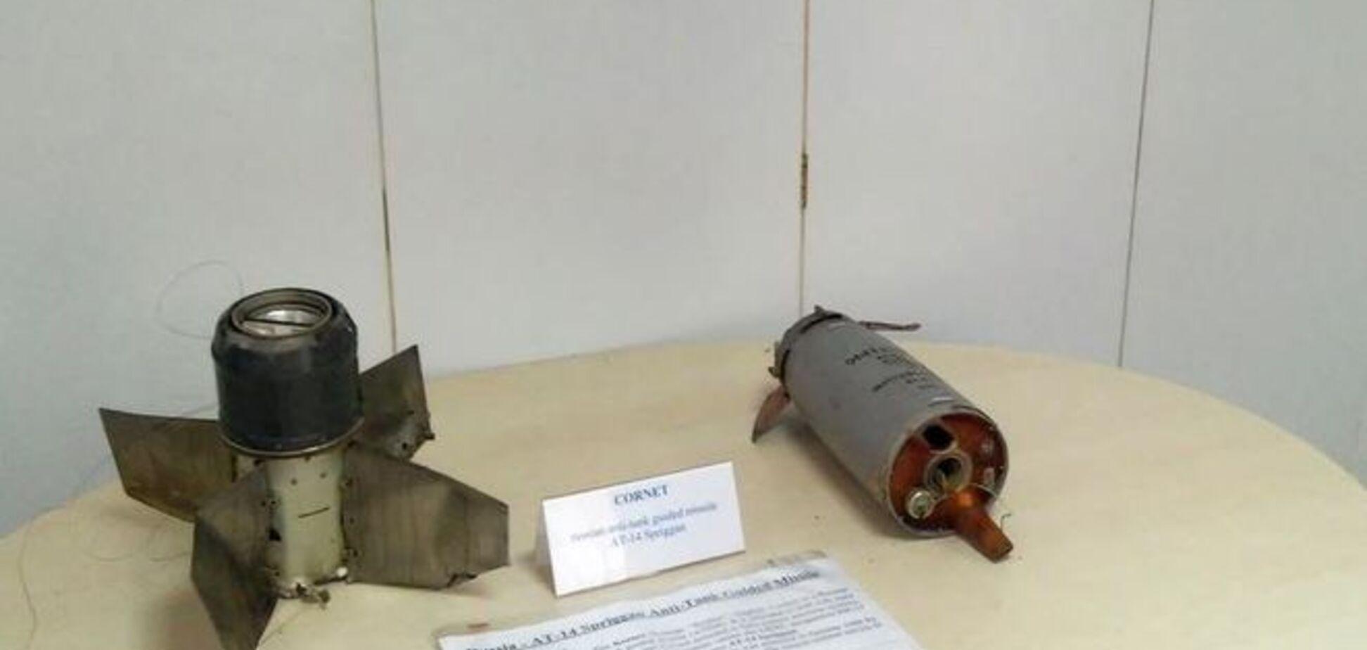Силовики показали атташе российскую ракету из зоны АТО: опубликованы фото