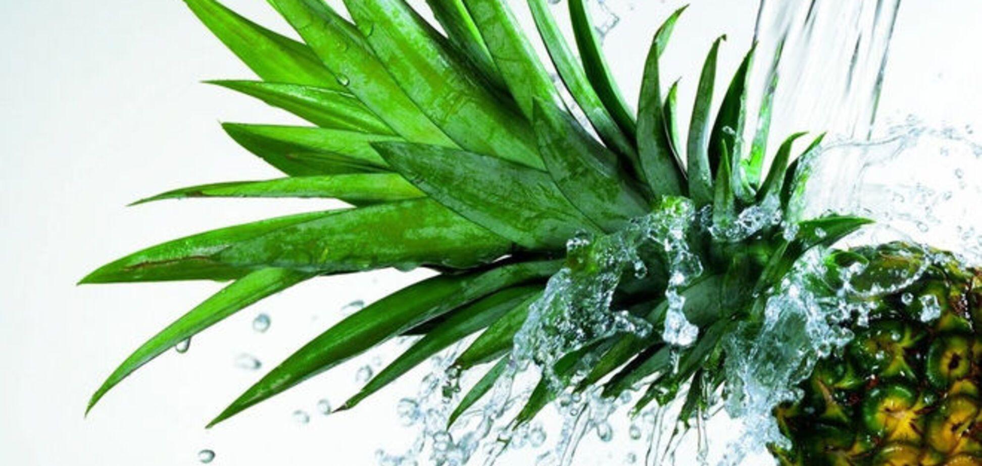 Вода с ананасовым соком: 10 полезных свойств