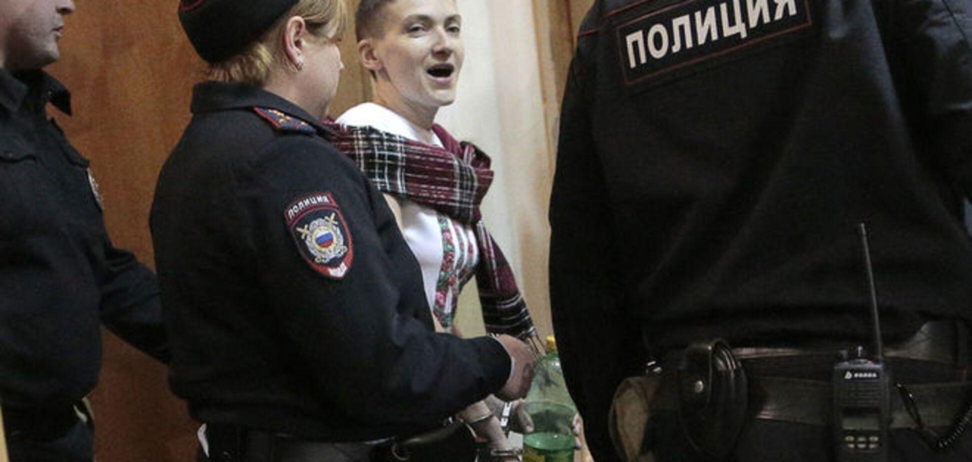 Савченко - Вовку з СБУ: вас попрошу не сунути свій ніс у мою справу