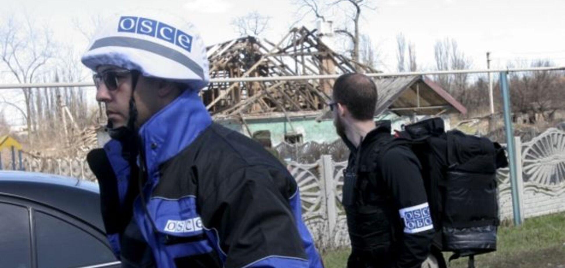Под Широкино террористы прикрываются наблюдателями миссии ОБСЕ