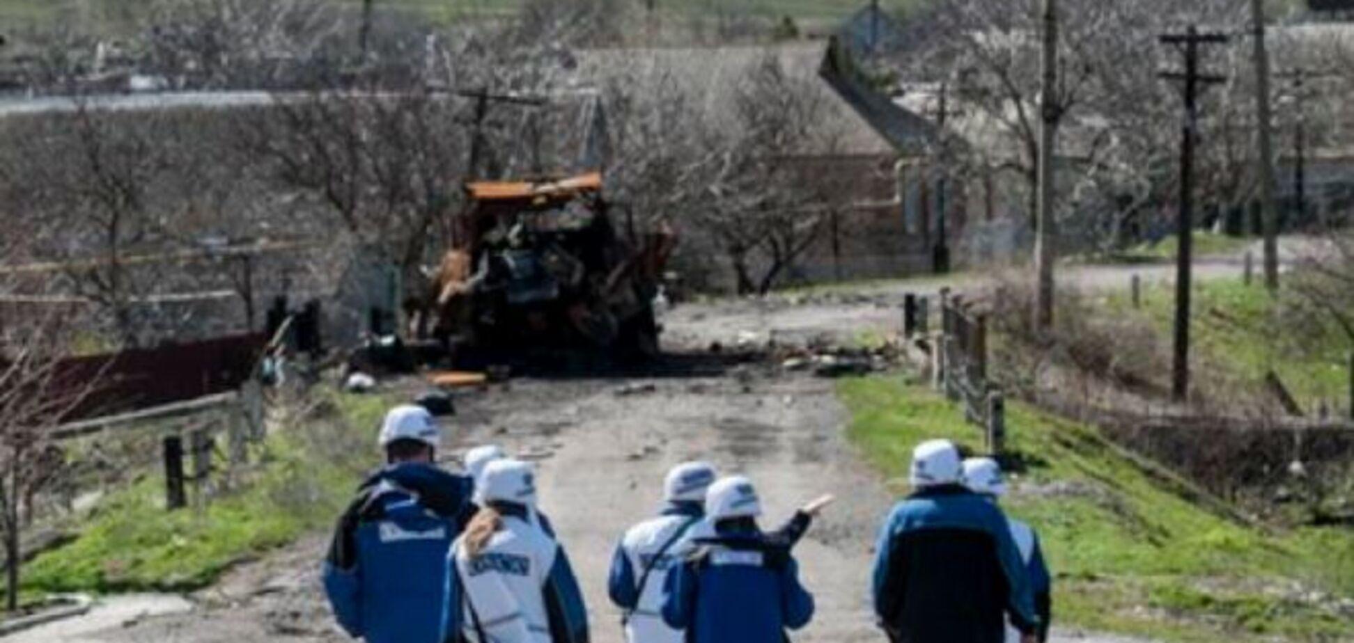 Террористы не пустили ОБСЕ в восточную часть Широкино
