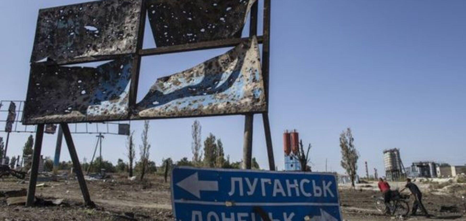 Террористы обстреляли силы АТО, в небе кружили вражеские беспилотники