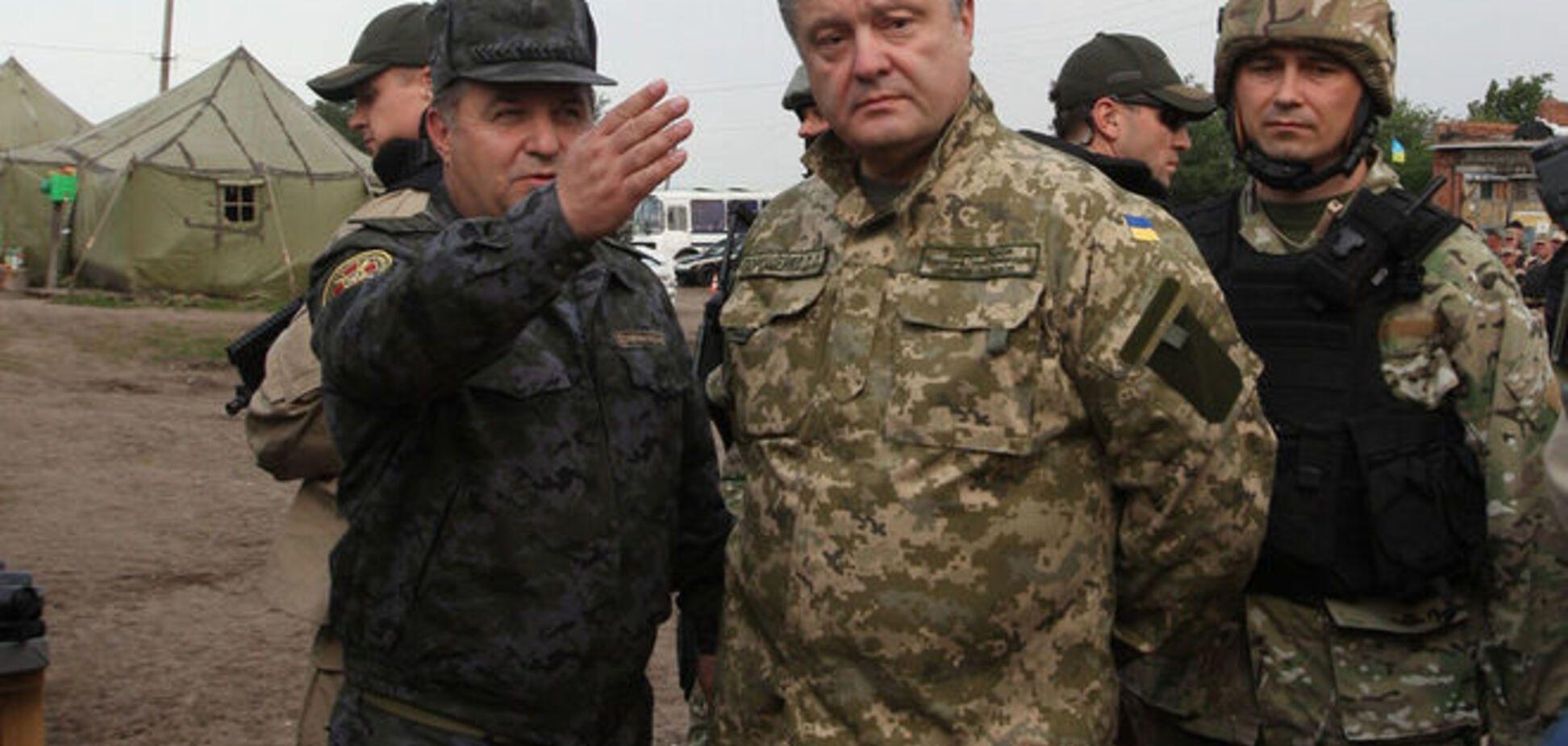 Украина стала одной из наиболее боеспособных на континенте - Порошенко