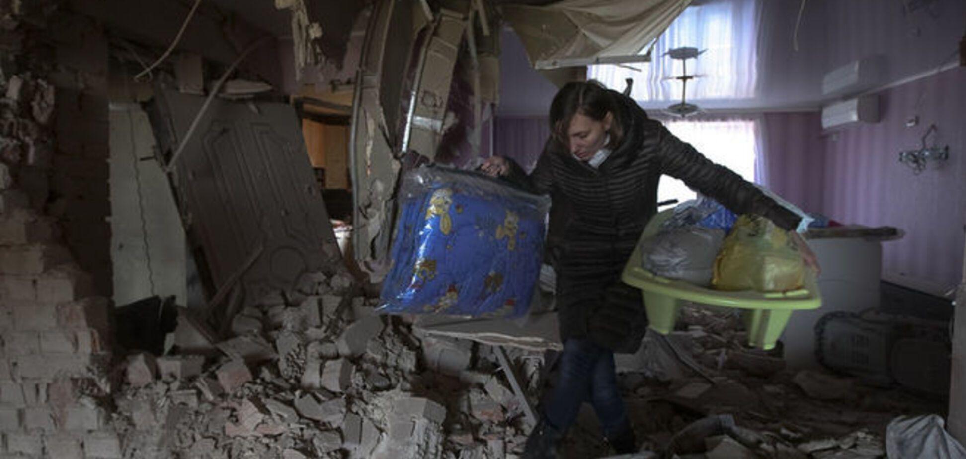 Боевики накрыли 'Градами' село в Донецкой области