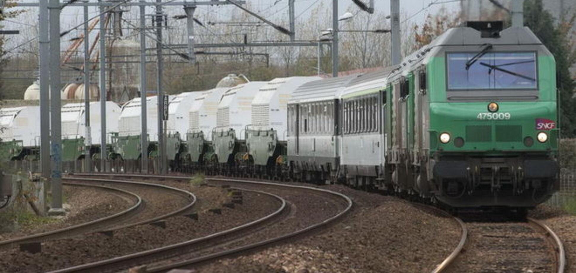 В сторону Крыма из России прошел груз со знаком 'Ядерная опасность' - СНБО