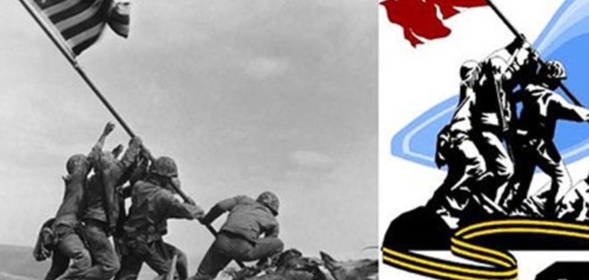 Фейкометы: россиян с Днем Победы поздравляют немецкие и американские солдаты - фотофакт