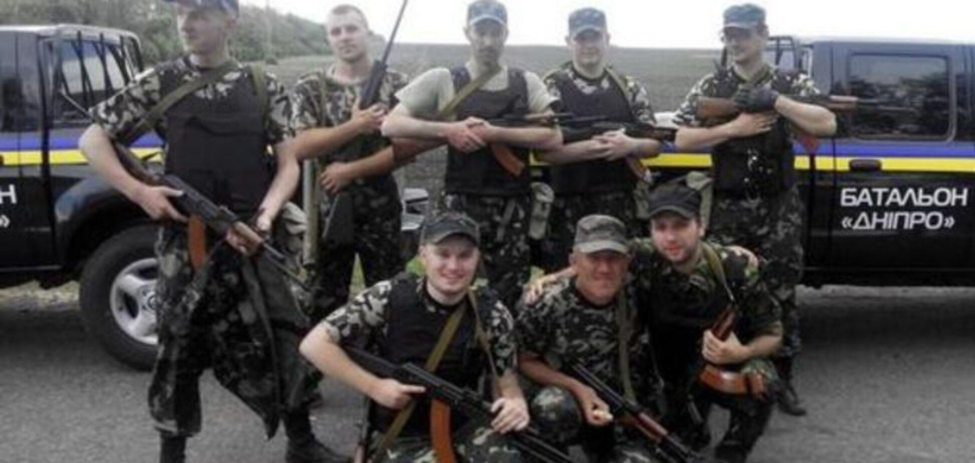 'Днепр 1' взорвал бронетехнику террористов под Мариуполем