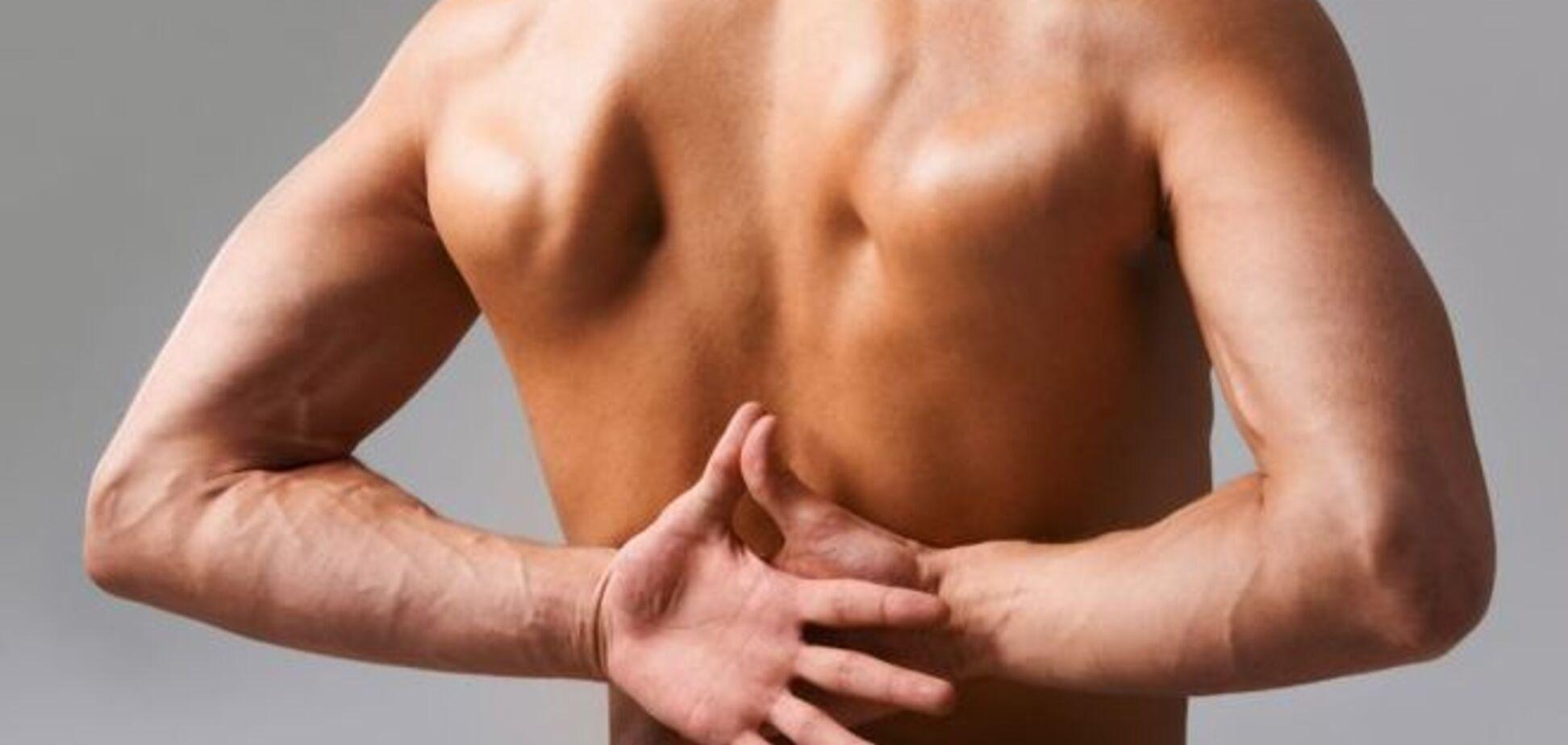 Очень простое упражнение при самых сильных болях в спине