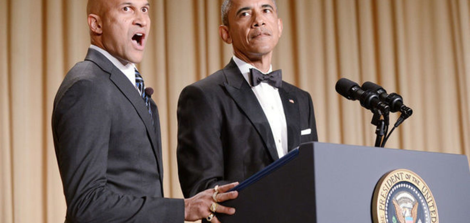 Обама рассмешил Ирину Шейк 'злым переводчиком'