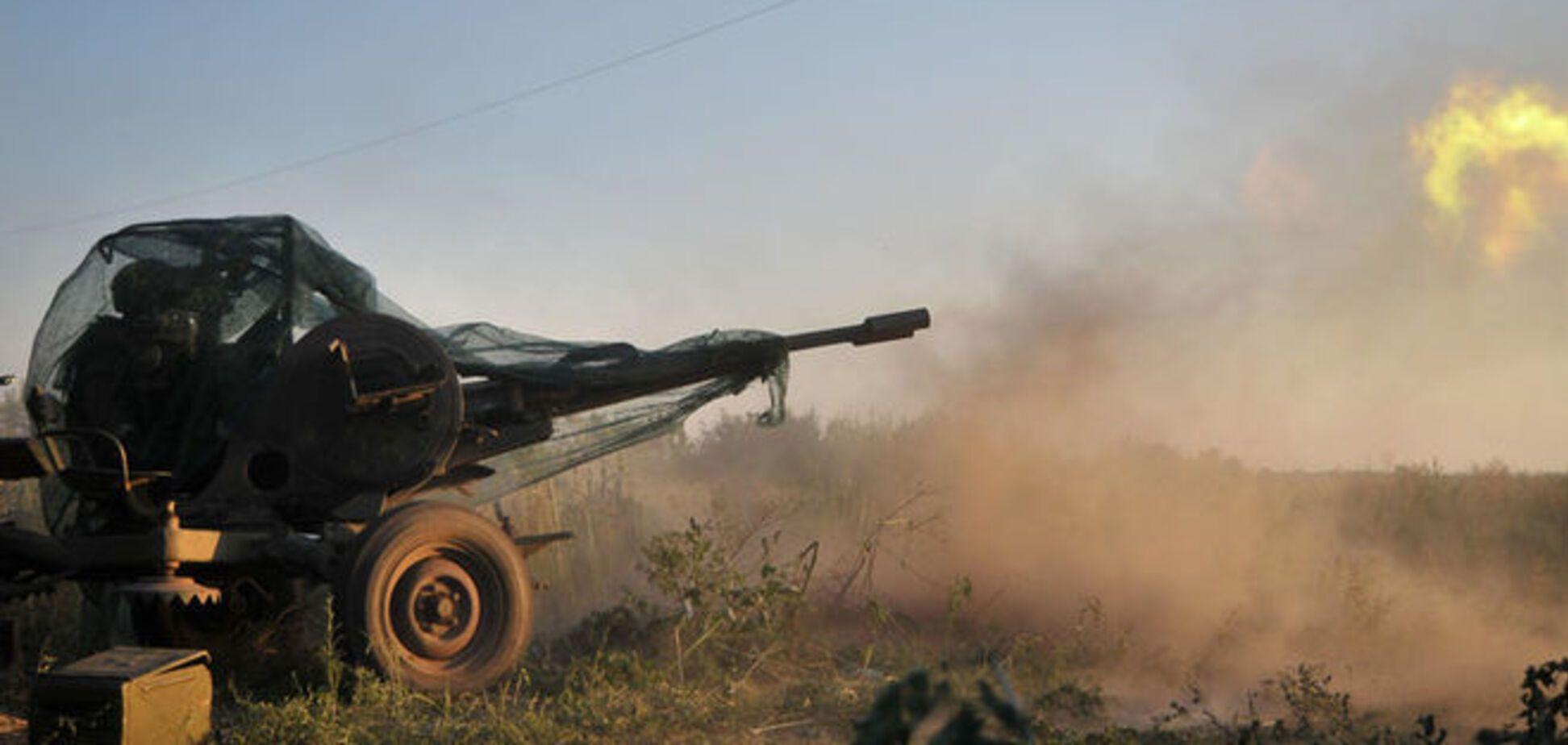 Ночью террористы 11 раз обстреляли Гнутово и Широкино