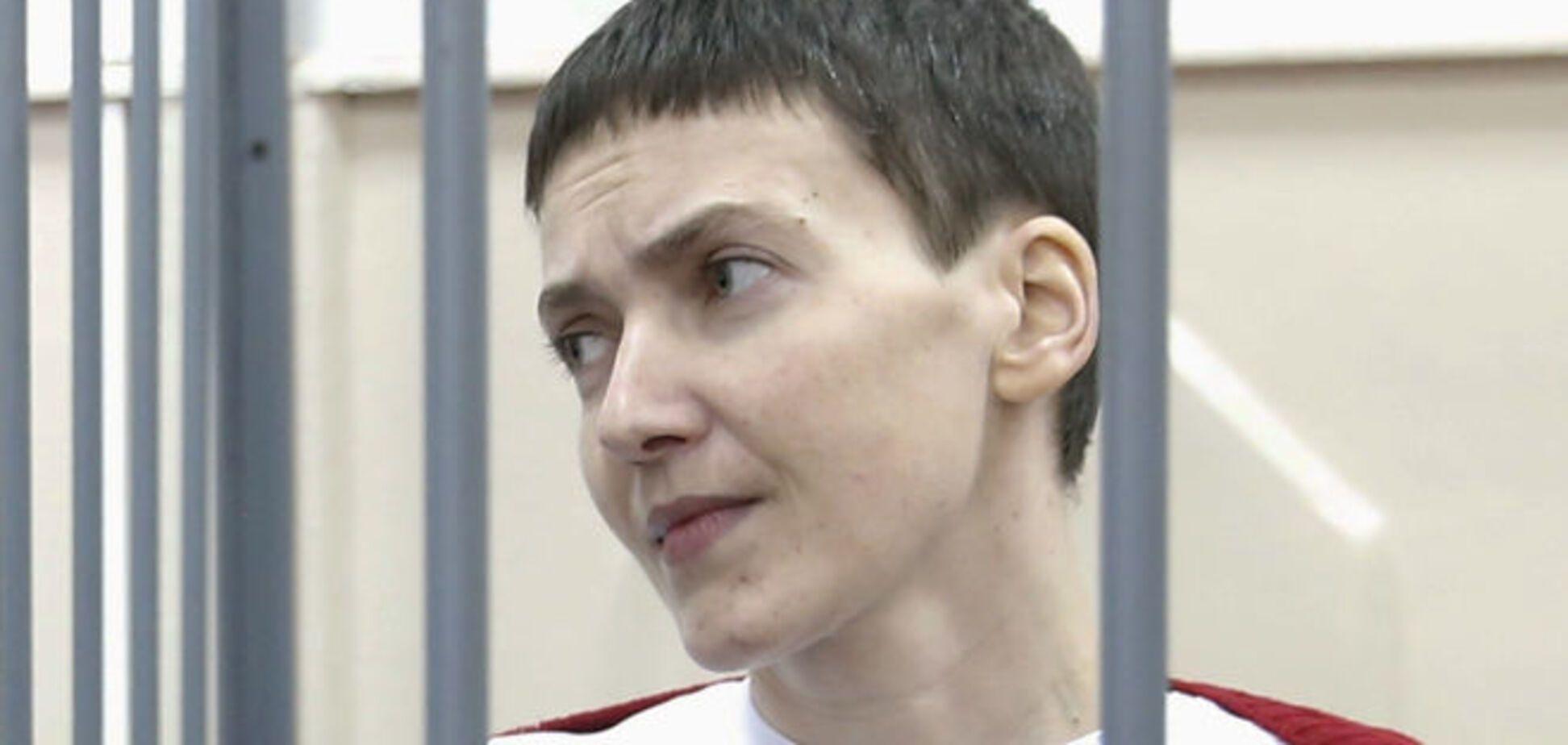 Савченко переводят в городскую больницу