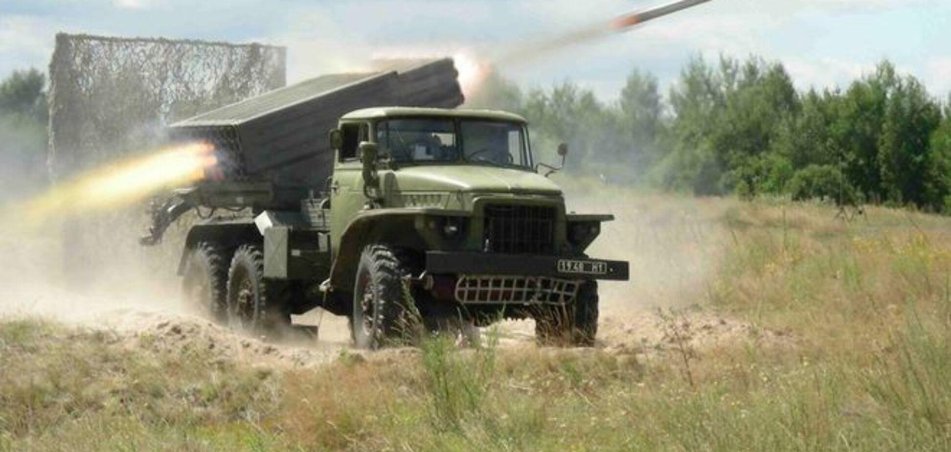 Террористы применили тяжелую артиллерию и 'Грады'