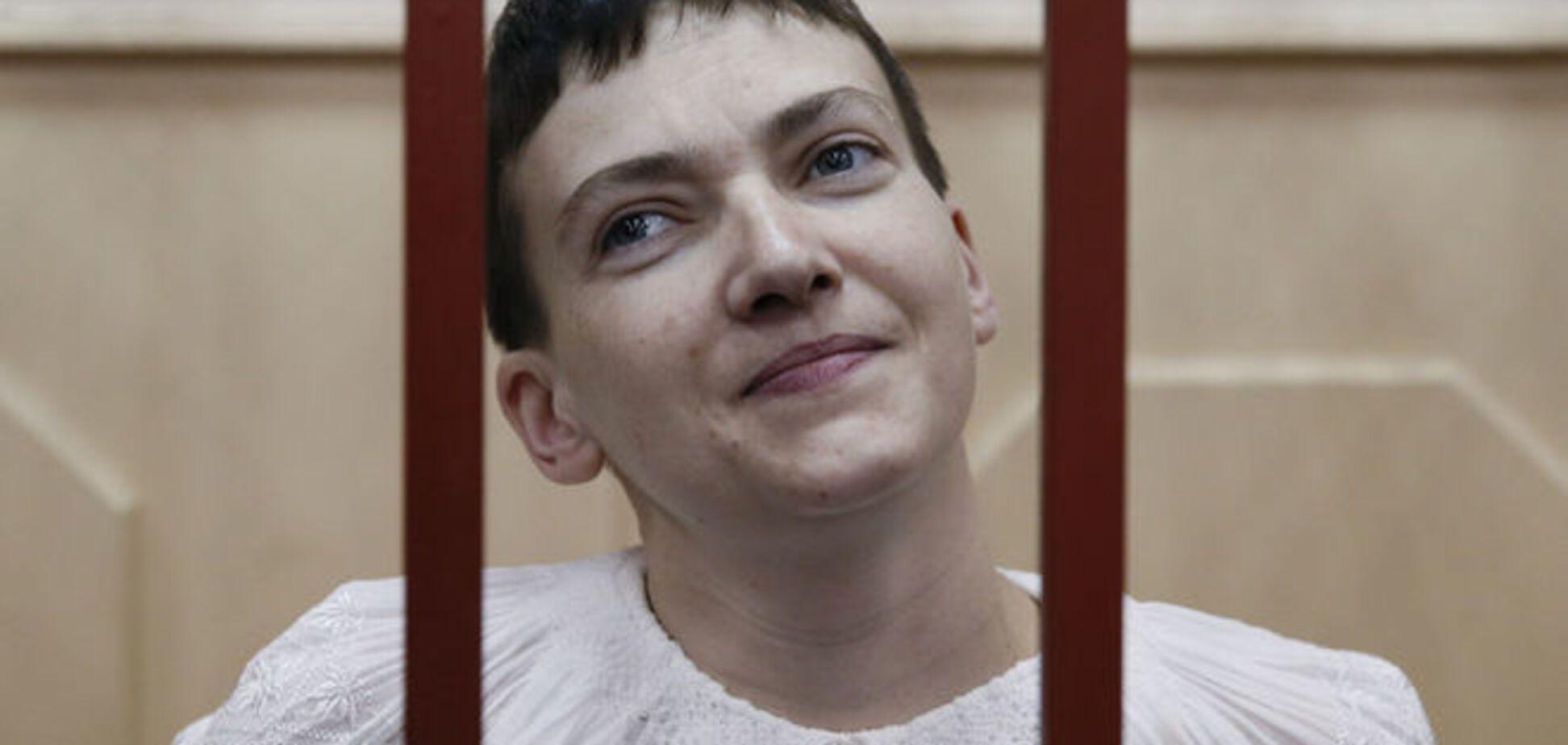 Савченко перевели в московскую горбольницу