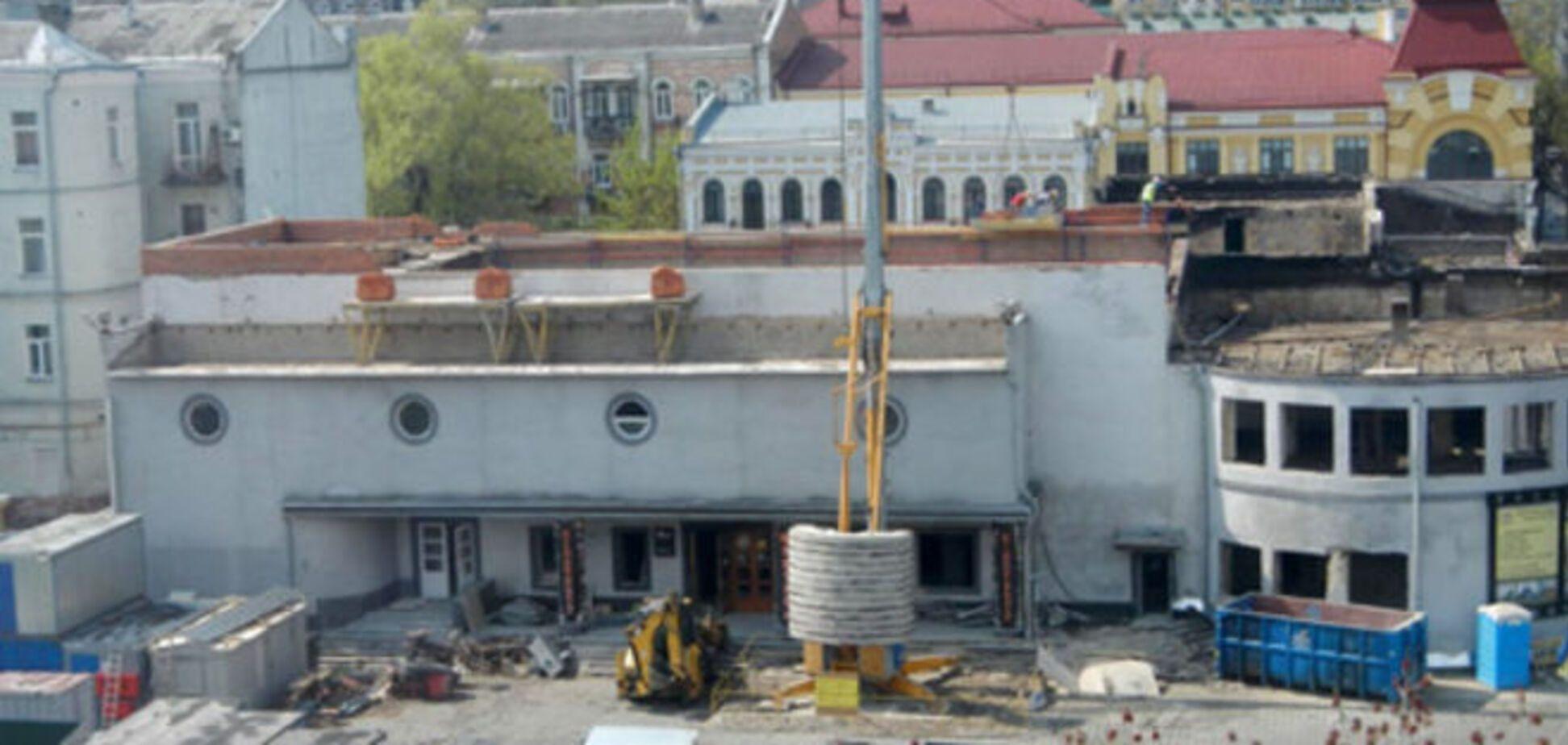В Киеве обеспокоены подозрительным ремонтом кинотеатра 'Жовтень'