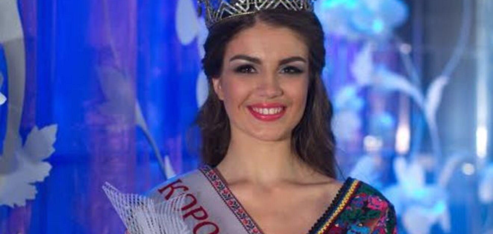 'Королевой Украины 2015' стала студентка из Полтавы: фото красавицы