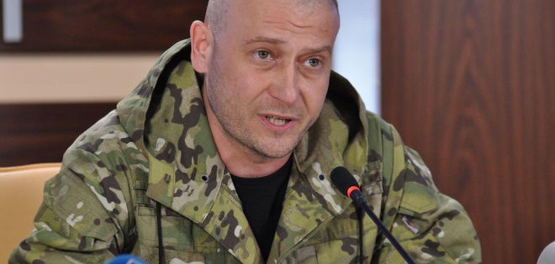 ВСУ заблокировали базу и пытались разоружить бойцов 'Правого сектора' - Ярош