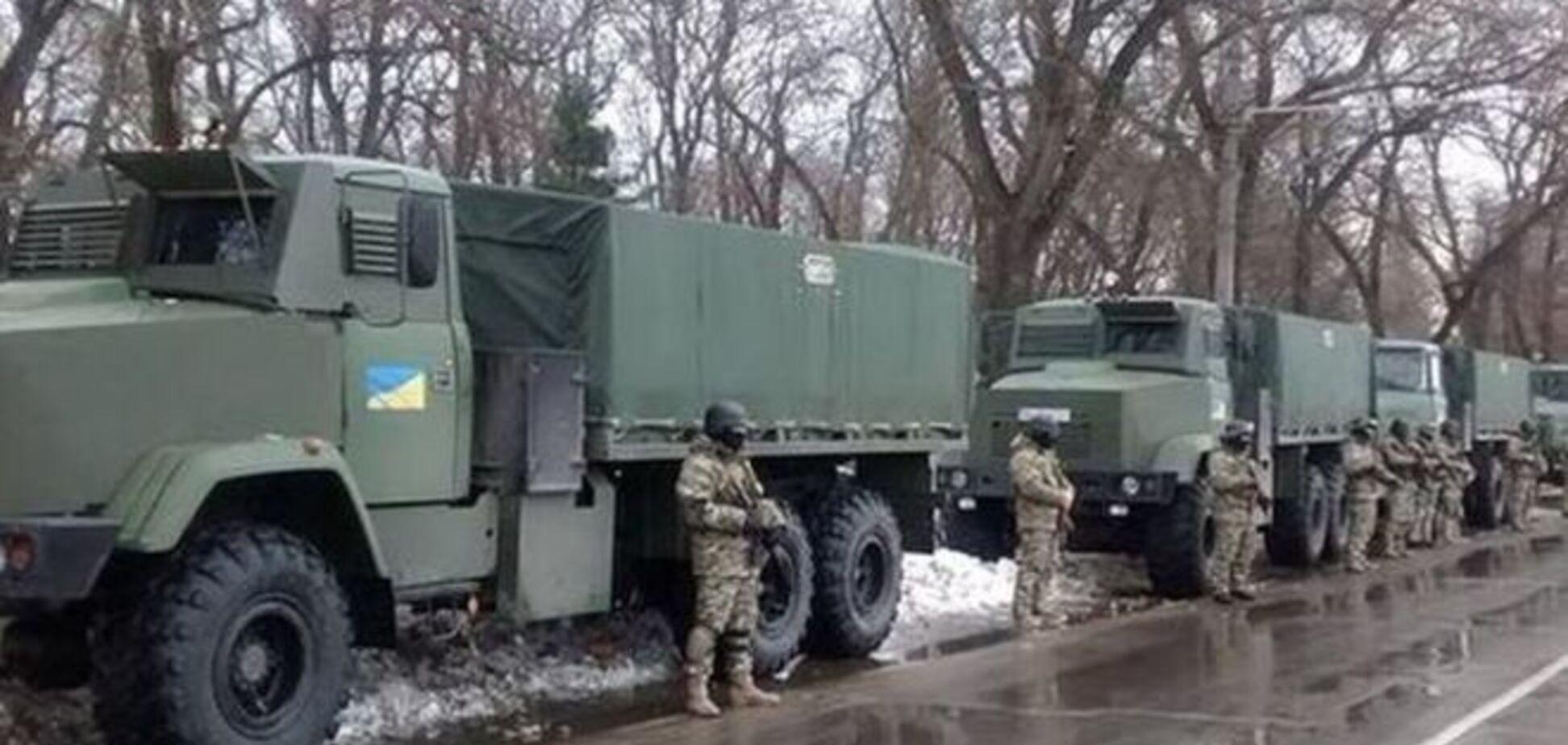 СБУ не исключает введения в Одессу на майские праздники бронетехники