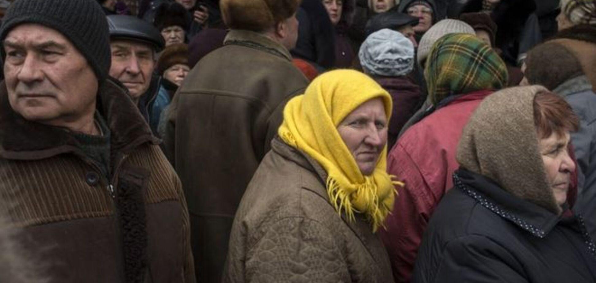 Понад 70% пенсіонерів Донбасу отримують пенсію в Україні